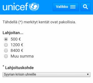 unicef_lahjoitus